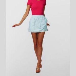 Lily Pulitzer Seersucker Mini Skirt